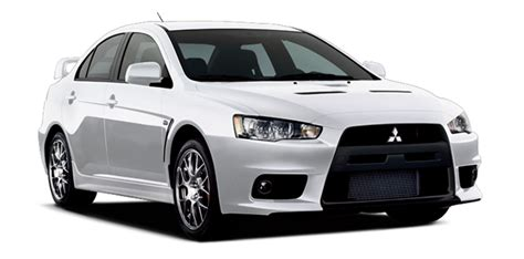 2014 Mitsubishi Lancer Evolution White Top Auto Magazine