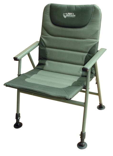 compact armchair fox warrior compact arm chair chapmans angling