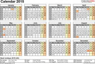 2014 2015 calendar template 9 best images of printable 2015 calendars templates pdf