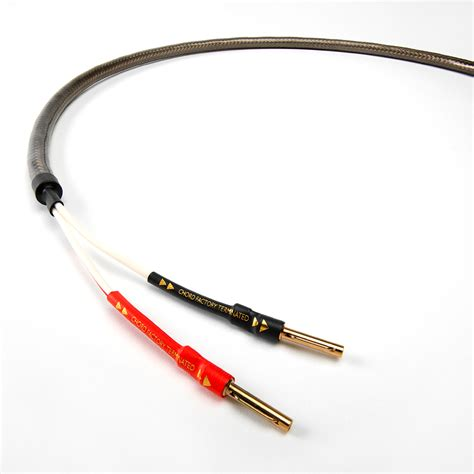 hi fi choice speaker cable reviews epic speaker cable the chord company