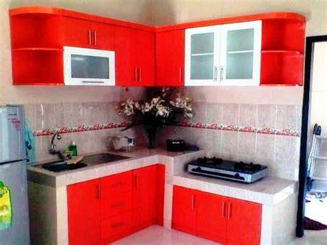 Desain Dapur Sederhana Bentuk L | 30 desain dapur bentuk l minimalis sederhana cantik