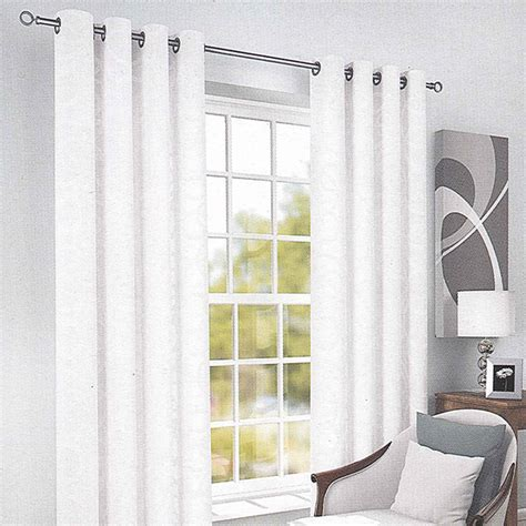 white eyelet curtains white lined eyelet curtains marrakesh eyelet voile panel
