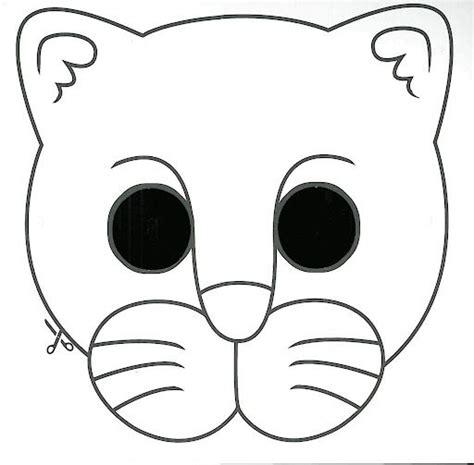 printable tiger mask template tiger mask template 171 funnycrafts