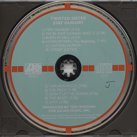 Cd Twisted Stay Hungry target cd twisted stay hungry v003