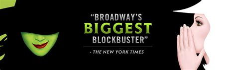 Wicked Behind The Emerald Curtain Wicked The Musical Official Site Broadway Tickets