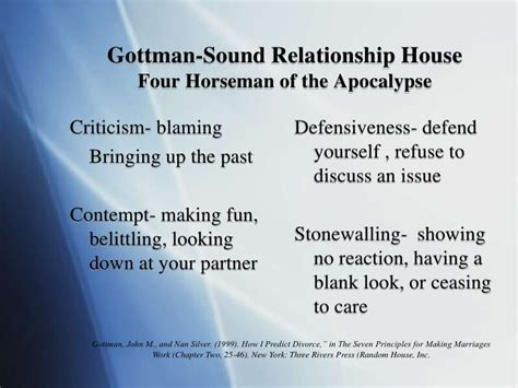 gottman sound relationship house military families enduring continuous cycles of deployment and impli
