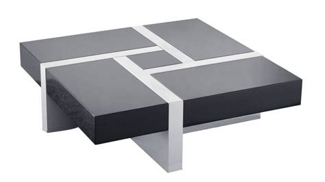 Table basse design : la table basse design 4 tiroirs