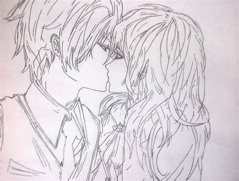 imagenes de anime love kiss anime kiss beso anime dibujo taringa