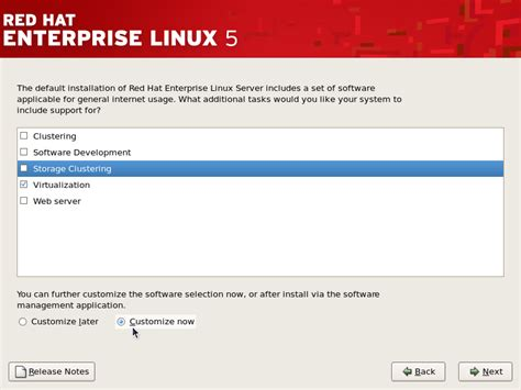 Linux Install L by 6 3 Installing Kvm With A New Hat Enterprise Linux
