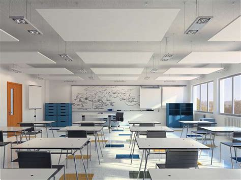 Panneau Tuile Isolé by Acoustic Ceiling Clouds Optima Canopy By Armstrong