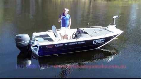 yamaha boat motors brisbane quintrex hornet trophy 481 sc yamaha f90hp 4 stroke boat
