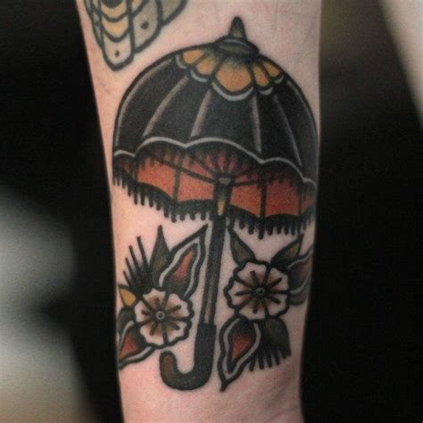 traditional umbrella tattoo best 10 umbrella ideas on