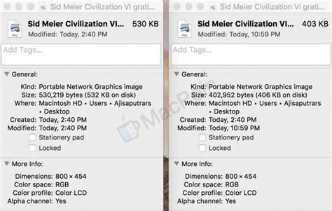 Macbook Ukuran Kecil cara kompres dan perkecil ukuran gambar di mac dengan squash macpoin