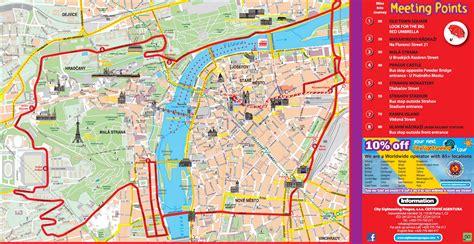 tour map prague quarter walking tour incl city tour