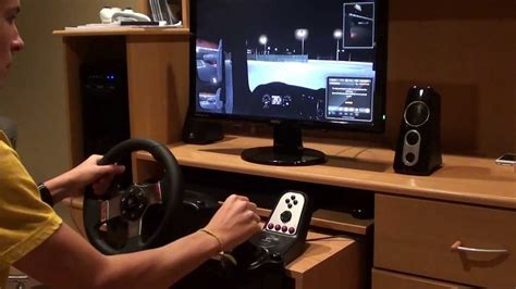 gaming setup simulator euro truck simulator 2 max settings logitech g27 youtube