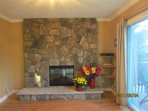 refacing brick fireplaces rick minnings cultured stone work