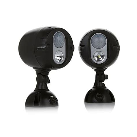 mr beams security lights mr beams netbright 2 pack wireless led networked security