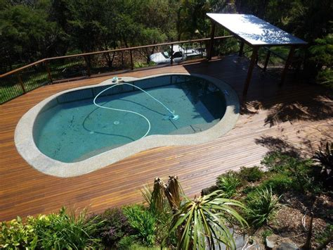 Landscape Timbers Around Above Ground Pool Pool Decking Options Advantages And Tips