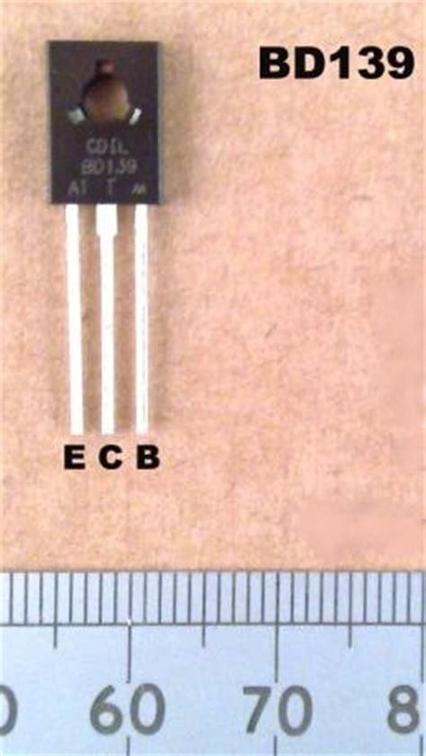 datasheet transistor npn bd139 bd139 transistor