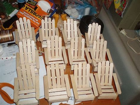 Popsicle Stick Chair by Popsicle Sticks Chairs Wood Crafts To Make