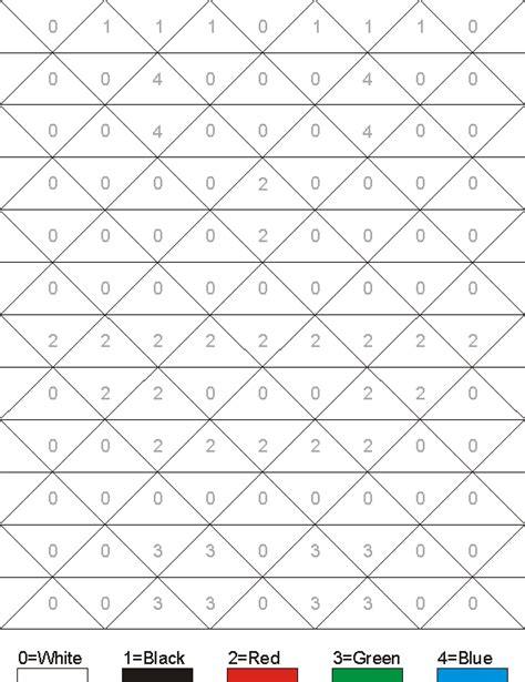 hidden mosaic pictures printable hidden pictures worksheet clown color by numbers