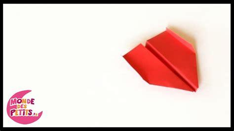 Origami L - origami l avion en papier