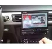 Kenwood KVT 522DVD On BMW E90 Project  YouTube