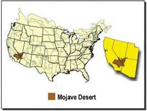 deserts map the mojave desert desertusa
