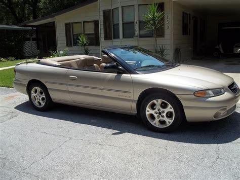 chrysler sebring 2000 convertible 2000 chrysler sebring exterior pictures cargurus