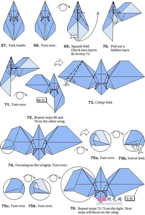 printable origami bat instructions origami bats 7 bat pinterest origami bats and
