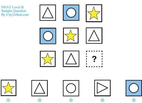 pattern completion test kindergarten nnat and olsat test prep city gifted goldkey guide