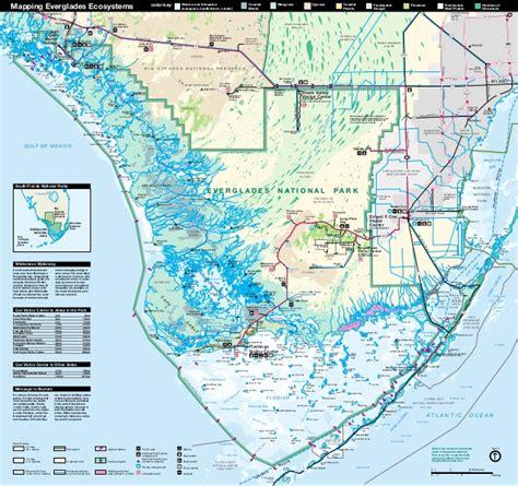 everglades national park map nostalgicoutdoors everglades national park map