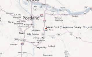 map of clackamas oregon mount clackamas county oregon mountain information