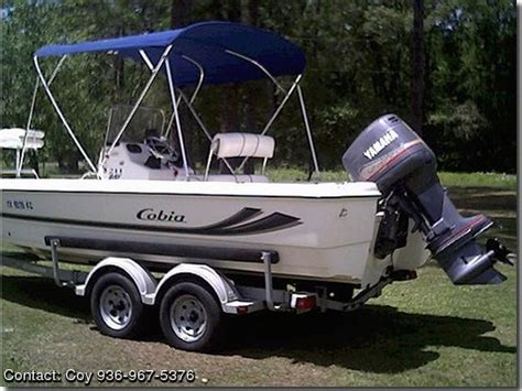cobia boats for sale by owner 2002 cobia 211 pontooncats