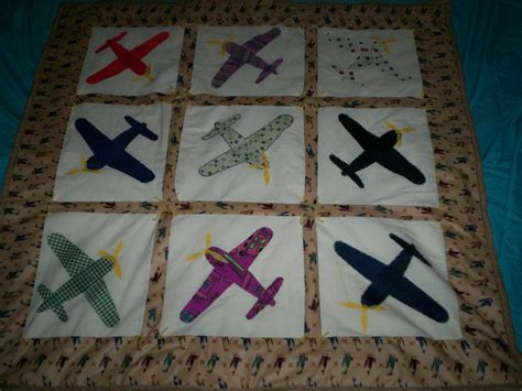 quilt pattern galore baby or lap quilt airplanes galore handcrafted 45 inches