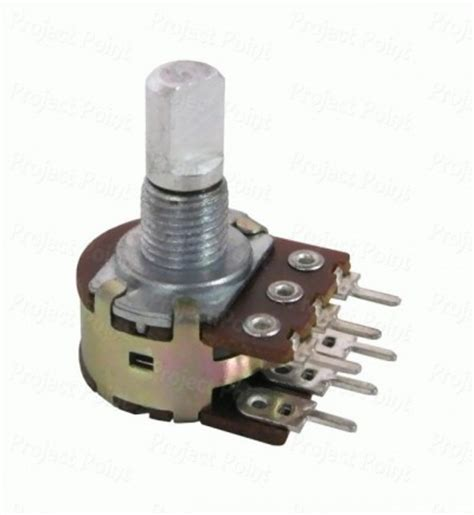 47k preset variable resistor 47k linear taper rotary 16mm dual potentiometer 1203 16mm carbon potentiometer 50k