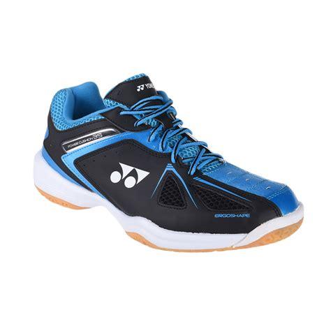 Harga Sepatu Badminton Yonex jual yonex power cushion 35 sepatu badminton black blue