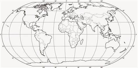 greig roselli blank world map  printing  borders