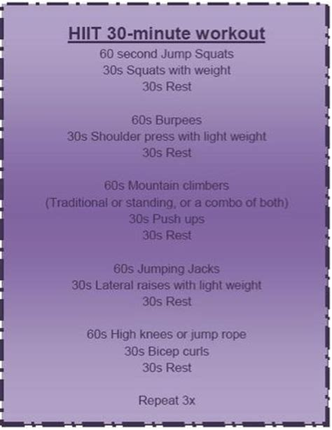 best 10 30 minute hiit workout ideas on