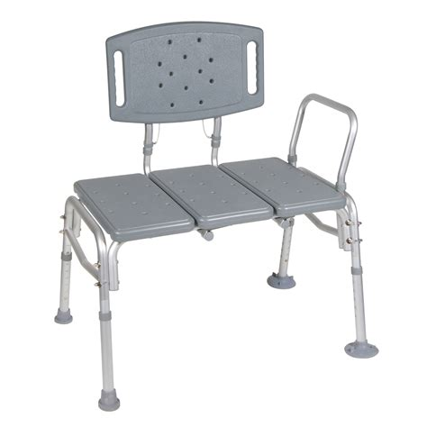 plastic transfer bench drive medical heavy duty bariatric plastic seat transfer