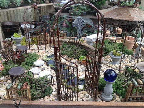 miniature garden accessories oak garden shop and