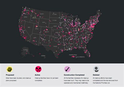 superfund site map how close are you to a superfund site national geographic