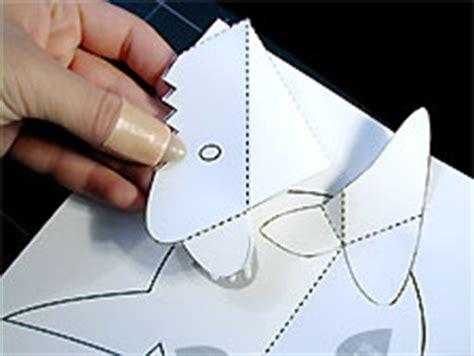 card board shark template paper sculpture and craft pop up shark