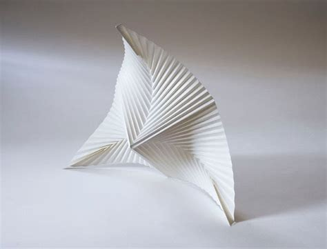 Paper Folding Sculpture - territories of practice pattern as expression pattern