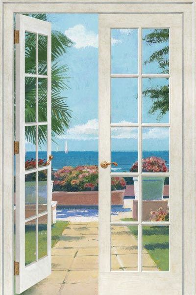 french wall murals french doors resort peel and stick wall mural