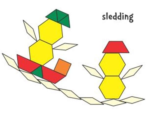 pattern block templates for kindergarten 213 best math pattern block pictures images on