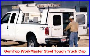 Work Canopies by Gemtop Truck Caps Are Made Of Steel The Professionals