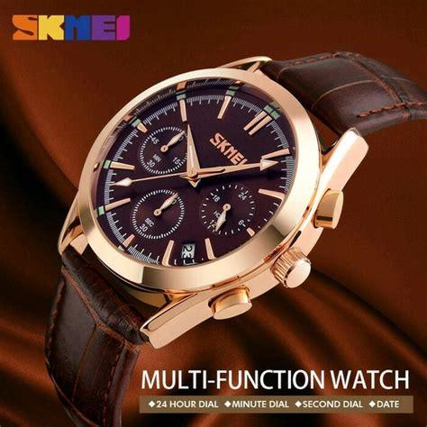 jual jam tangan pria original casual skmei  anti air