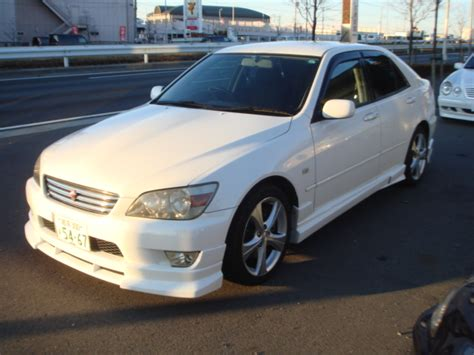 altezza car price toyota altezza sxe10 for sale car on track trading