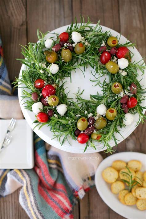 christmas wreath appetizers beautiful edible antipasto wreath appetizer appetizers brunch casseroles